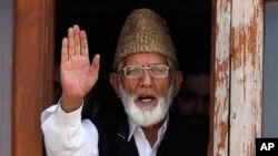 سید علی گیلانی بدھ کو سرینگر میں انتقال کر گئے تھے۔