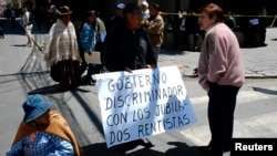 La legalización del trabajo infantil, es otra de las críticas que realiza Human Right Watch, al gobierno de Evo Morales.