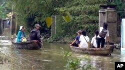 Biến đổi khí hậu sẽ làm mực nước dâng cao, đe doạ nhiều thành phố lớn ở Á Châu, kể cả ở Việt Nam.
