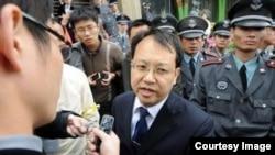 北京律师刘晓原。 (微博图片)