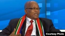 Presidente sul-africano, Jacob Zuma, um dos participantes no Fórum Económico Mundial