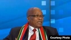 Le président sud-africainJacob Zuma (archives)