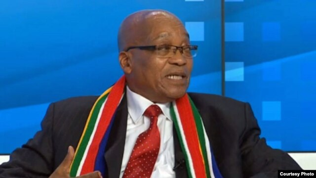 South African President Jacob Zuma at World Economic Forum 2013 Annual Meeting in Davos (Credit: WEC)