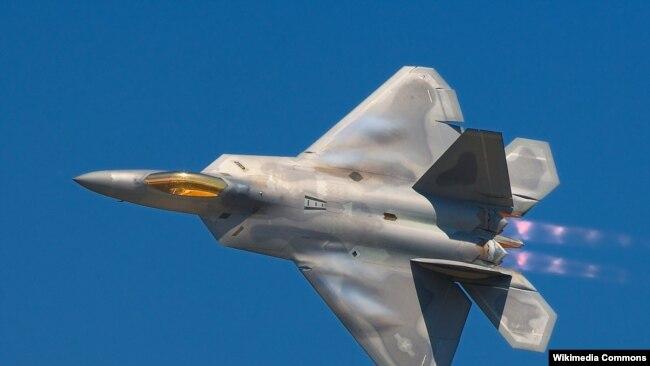 Истребитель-невидимка F-22 Raptor