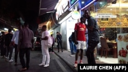 Africans in China