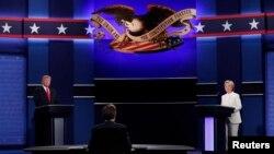 ABŞ prezidentliyinə namizədlər-demokrat Hillari Klinton və respublikaçı Donald Tramp arasında sonuncu və üçüncü debat