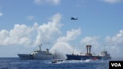 Taiwan mengadakan latihan pencarian dan penyelamatan atau SAR di Laut China Selatan sebagai bagian dari upaya mengukuhkan klaimnya atas sebuah pulau penting di wilayah perairan vital dan strategis itu, Selasa (29/11).