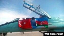 Azərbaycanla Türkiyə arasında hərbi təlimlər başlayıb ( Foto Anadolu Ajanslığı)