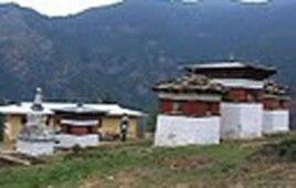 Neyphug Monastery grounds, Bhutan
