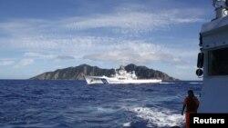 Các tàu bè của Trung Quốc nhiều lần bị phát giác trong vùng biển tiếp cận quần đảo Senkaku ở Ðông Hải