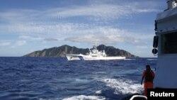 Tàu tuần duyên Nhật Bản chận tàu đánh cá được tàu tuần duyên Ðài Loan hộ tống gần dãy đảo Senkaku/Ngư Ðài (ảnh tư liệu)