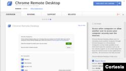Para poder accesar a otras computadoras antes debes descargar una aplicación desde la tienda virtual de Apple o Google.