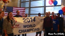 美国女排夺得世锦赛冠军 ,周一凯旋
