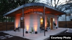 The first permitted, 3D-printed home was created specifically for the developing world by builder ICON and the not-for-profit New Story. (ICON)