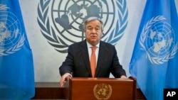 Генеральный секретарь ООН Антониу Гуттериш (архивное фото)