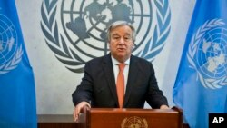 Sekretaris Jenderal PBB, Antonio Guterres
