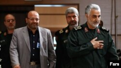 IRGC Quds force commander Qassem Soleimani