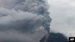 Proradio vulkan Maunt Sinabung u Indoneziji