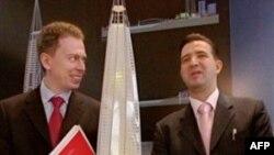 Макет башни «Газпрома»