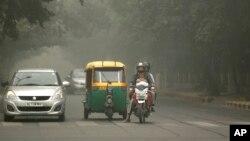 Kualitas udara di New Delhi, India merupakan yang terbutuk di dunia (foto: ilustrasi).
