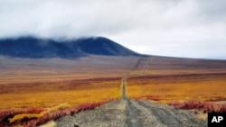 通向铀矿劳改营的道路