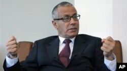 지난 14일 선출된 알리 제이단 리비아 임시 총리.