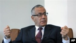 Ali Zidan, ditunjuk sebagai Perdana Menteri Sementara Libya, Minggu (14/10).