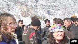 Solidaritet me banorët e zonave të izoluara nga dëbora