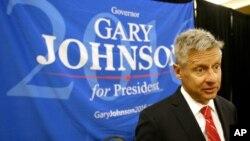 Ứng cử viên Đảng Tự do Gary Johnson.