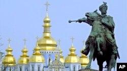 Киев. Монумент Богдану Хмельницкому
