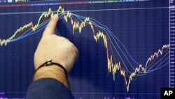 华尔街股票交易所(资料照片)