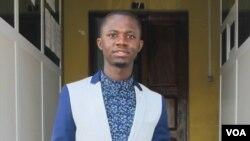 Bacar Cassamá, fundador da página covid19gb.com na Guiné-Bissau