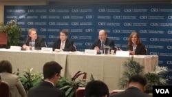 '한반도에 대한 중국의 우선 순위'라는 주제로 지난달 30일 미국 워싱턴의 전략국제문제연구소(CSIS)에서 열린 학술 토론회.