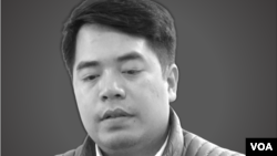 """Phan Kim Khánh, 26 tuổi, bị bắt vào tháng 3 năm 2017 liên quan tới việc anh điều hành hai trang blog chỉ trích chính phủ có tên """"Báo Tham Nhũng"""" và """"Tuần Việt Nam."""""""