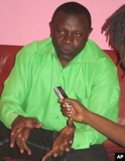 Alberto Ngalanela, secretário provincial da UNITA em Benguela
