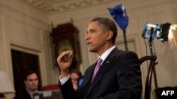 奥巴马每周例行讲话谈医改头年便见效