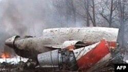 Розбитий польський літак у районі Смоленска