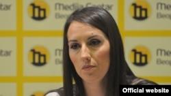 Ana Trkulja, pravnica Beogradskog centra za ljudska prava (Foto: Medija centar Beograd)