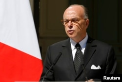 French Interior Minister Bernard Cazeneuve.