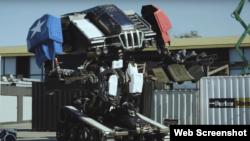 مقابلے میں حصہ لینے والا امریکی روبوٹ