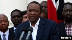 Permohonan Presiden Kenya Uhuru Kenyatta untuk menghentikan sidang pengadilan kejahatan perang ditolak oleh ICC (foto: dok).