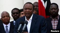 Prezida wa Kenya, Uhuru Kenyatta