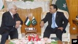 اسلام آباد میں ایوانِ صدر میں 12 فروری کو صدر آصف زرداری اور صدر محمود عباس کی ملاقات
