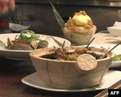 """Mie N Yu推出的""""兵马俑套餐"""""""