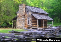 The John Oliver Cabin at Cades Cove