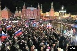 Moskva u nedjelju naveče