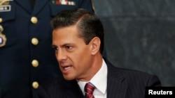 Le président mexicain Enrique Peña Nieto, 26 janvier 2017.