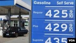 En San Francisco, California, es donde más cara está la gasolina.