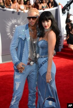 Riff Raff and Katy Perry (Photo by Jordan Strauss/Invision/AP)