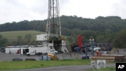 Salah satu lokasi pengeboran minyak Amerika di negara bagian Texas (foto: dok).